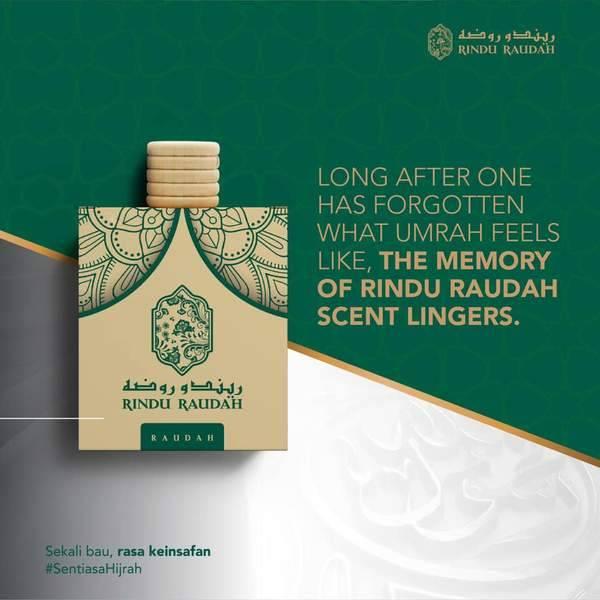 Rindu Raudah Air Freshner
