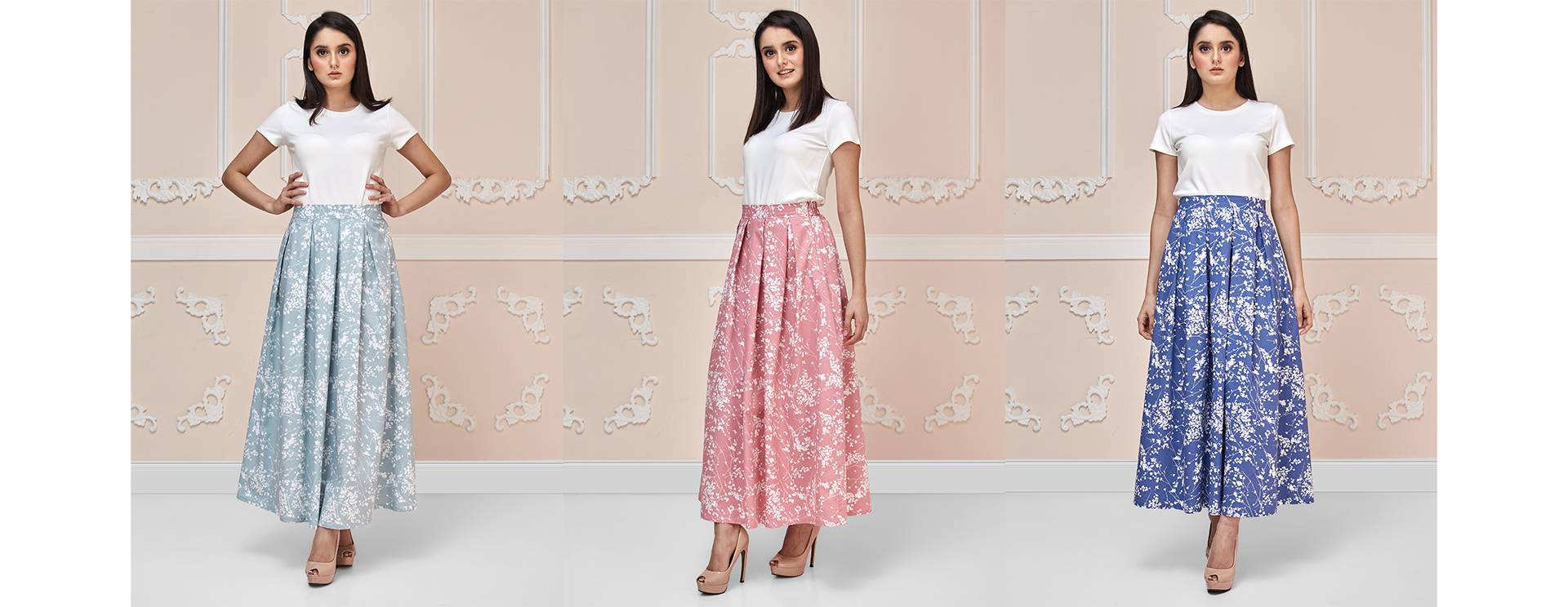 Blossoms Maxi Skirt