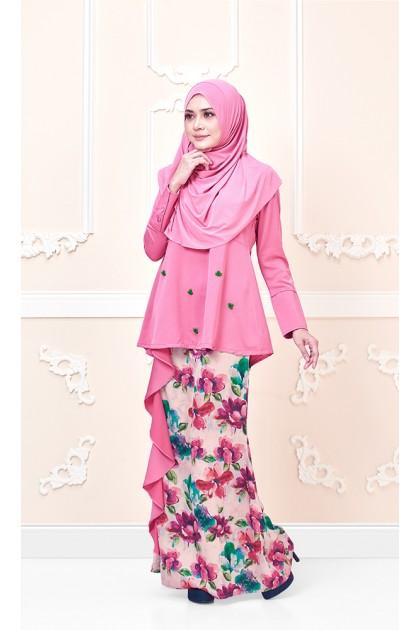 Azalea Kurung In Pink