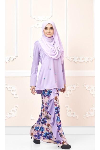 Azalea Kurung In Purple