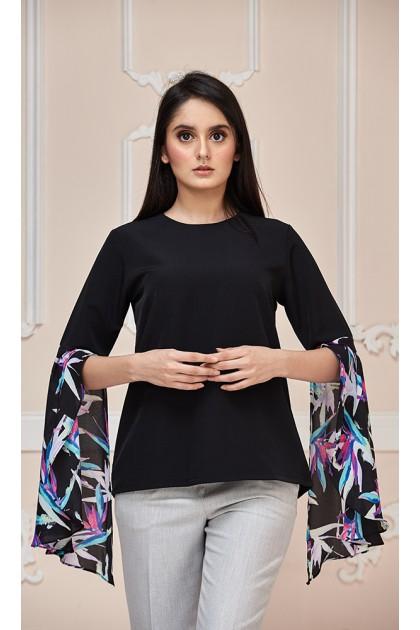 Leyla Top in Black