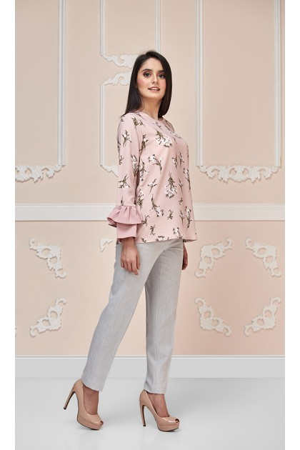 Fiona Top in Dusty Pink