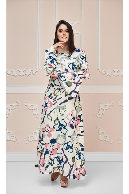Cherry Blossom Maxi Dress (As-Is Item/Minor Defect)