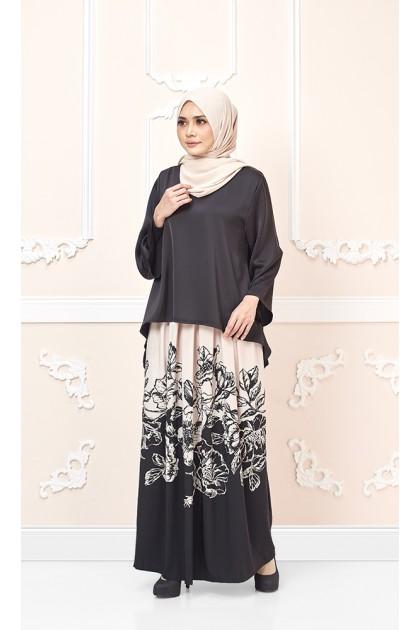 Floria Maxi Skirt in Beige (As-Is-Item/Minor Defect)
