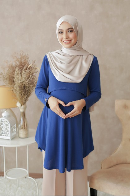 Melissa Top in Royal Blue