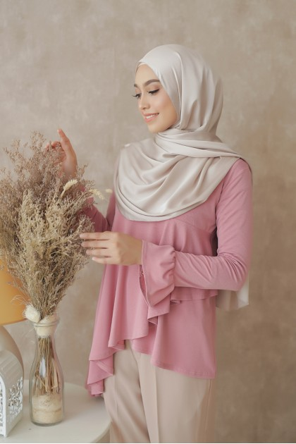 Sophia Top in Dusty Pink