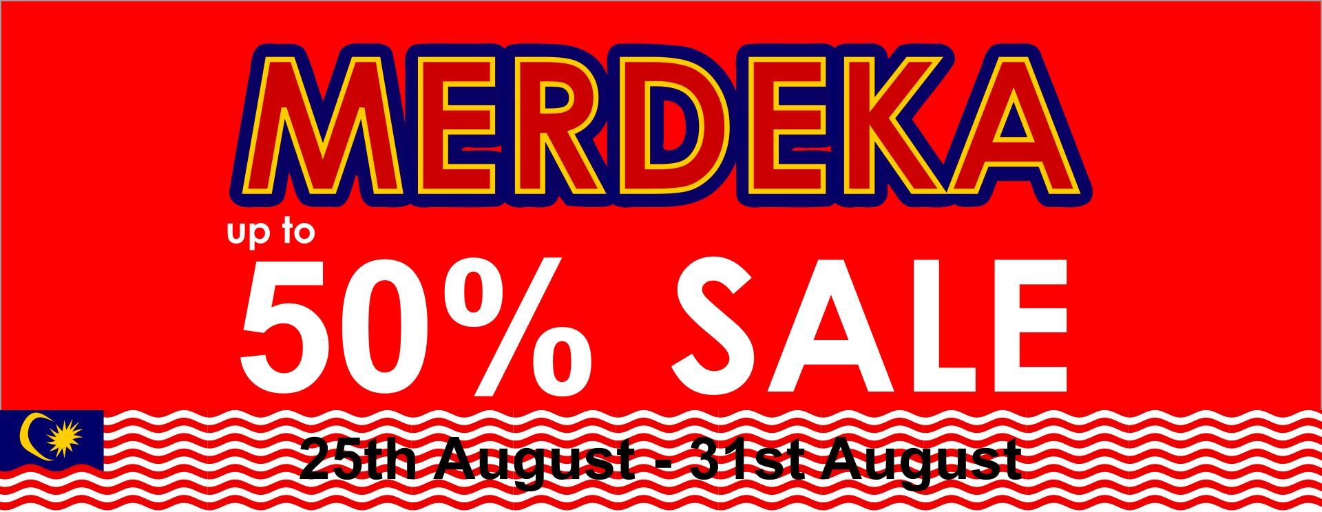 Merdeka Sales 2019
